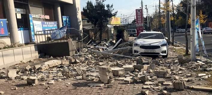 Σεισμός 5,4 Ρίχτερ στην Ν. Κορέα: 57 τραυματίες [εικόνες-βίντεο]