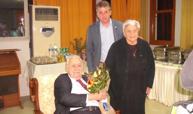 Γεύμα προς τιμήν του Χ. Τσιμά παρέθεσε το Γηροκομείο