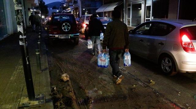 Τέσσερις συλλήψεις για πλιάτσικο στα ερείπια της Μάνδρας