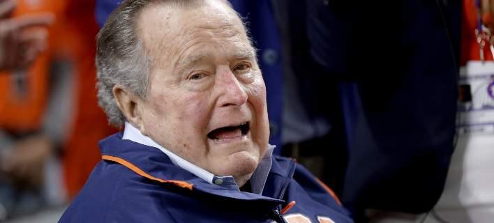Νέα καταγγελία για σεξουαλική παρενόχληση από τον πατέρα Μπους, την εποχή που ήταν πρόεδρος