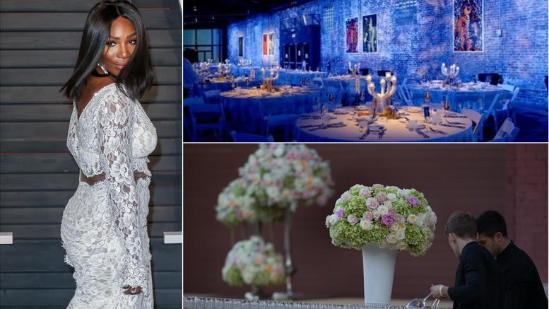 Ο παραμυθένιος γάμος του 1 εκατ. δολαρίων της τενίστριας Σερένα Γουίλιαμς [photos]