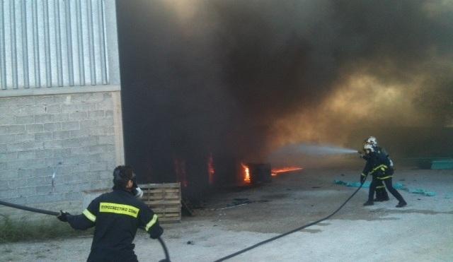 Ασκηση ετοιμότητας της Πυροσβεστικής στην ΕΨΑ. Το σενάριο