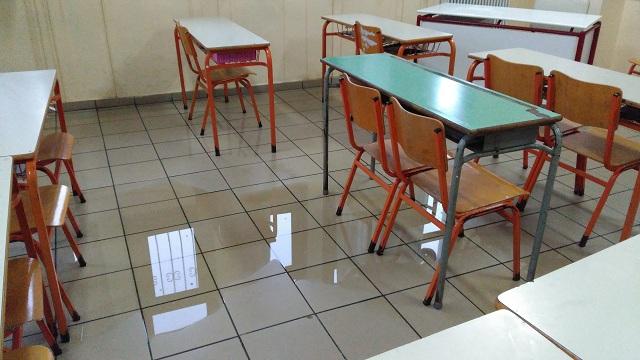 «Πνίγηκε» το Δημοτικό Σχολείο Ζαγοράς