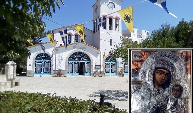 Πανηγυρίζει ο Ιερός Ναός Κοιμήσεως Θεοτόκου στα Κανάλια
