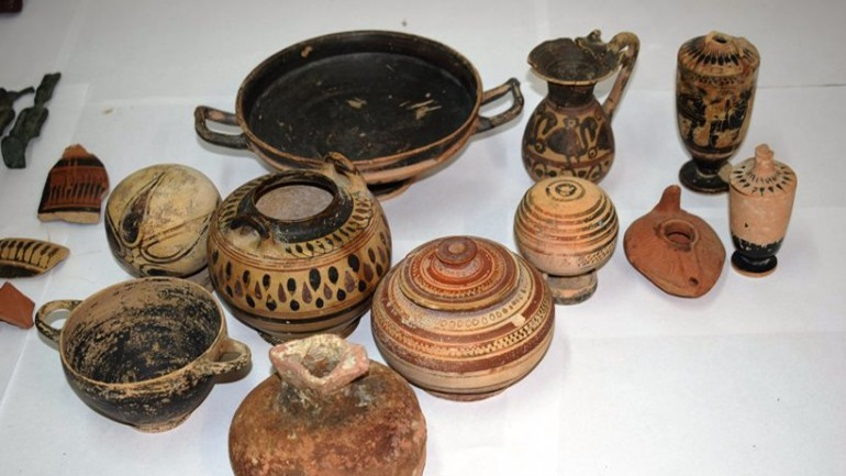 Επαναπατρίζονται αρχαία αντικείμενα κλεμμένα από Ναζί