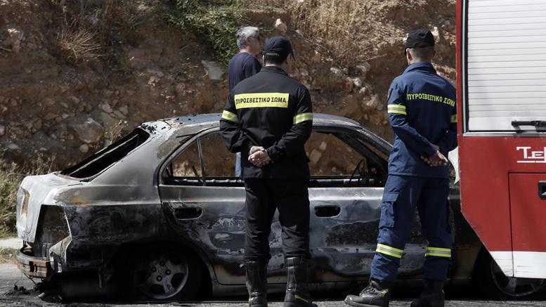 Βρέθηκε απανθρακωμένη σορός σε αυτοκίνητο στο Δομοκό
