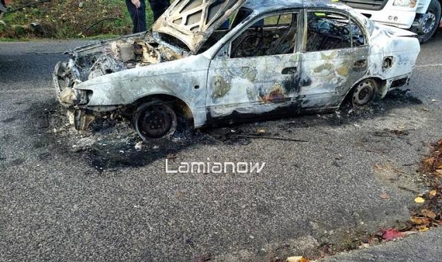 Κάτοικος Λαμίας ο άνθρωπος που βρέθηκε απανθρακωμένος μέσα στο αυτοκίνητό του στον Δομοκό