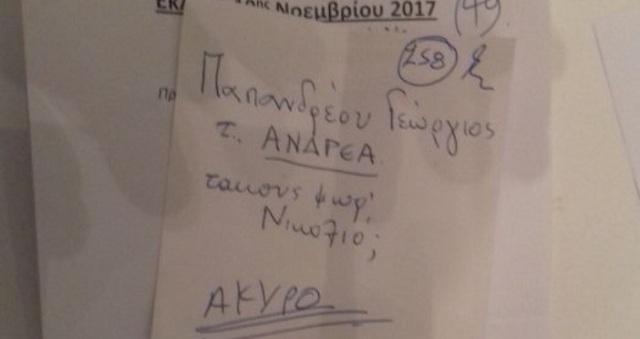 Το άκυρο ψηφοδέλτιο στις εκλογές της κεντροαριστεράς στη Λάρισα που σαρώνει το διαδίκτυο