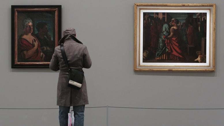 Ένας ανεκτίμητος πίνακας του Ντε Κίρικο έκανε ...φτερά από έκθεση