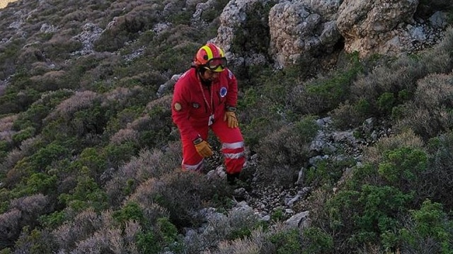 Επιχείρηση για τη μεταφορά τραυματισμένου προσκυνητή στο Άγιον Όρος