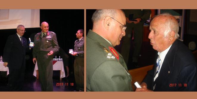 Τιμήθηκαν σε εκδήλωση έφεδροι αξιωματικοί