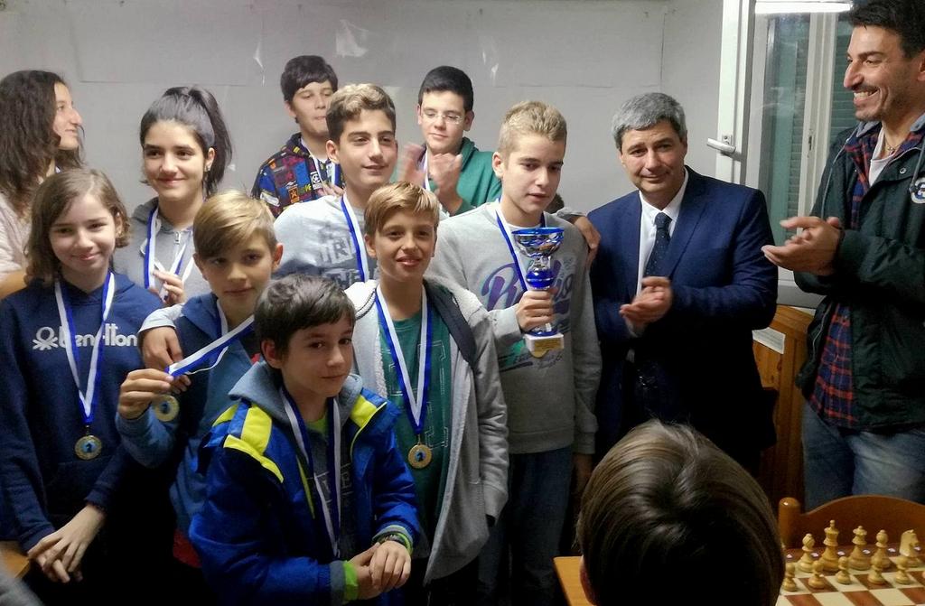 Η νεανική ομάδα της ΣΕ Βόλου πρωταθλήτρια Θεσσαλίας 2017