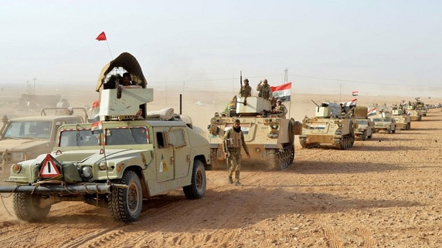 Ο ιρακινός στρατός ξεκίνησε την τελευταία του επιχείρηση εναντίον του Ισλαμικού Κράτους στην έρημο