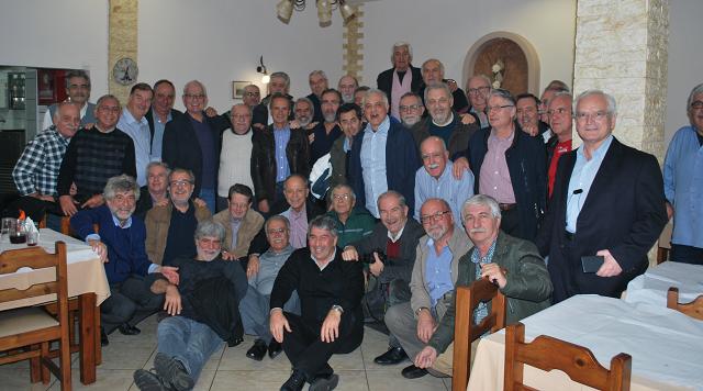 Συνάντηση αποφοίτων του 2ου Γυμνασίου Αρρένων Βόλου 46 χρόνια μετά