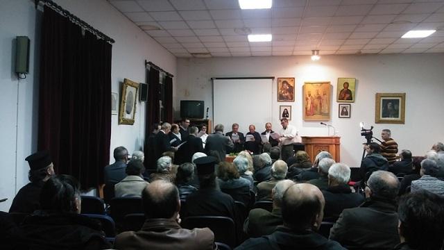 Ο Σύλλογος «Οι Τρεις Ιεράρχαι» τίμησε τον αείμνηστο Τρύφωνα Γερόπουλο