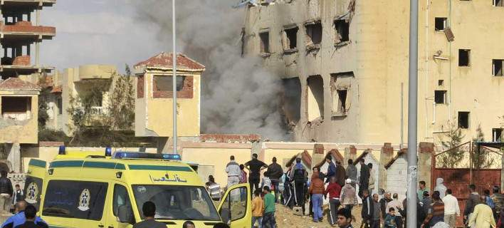 Επίθεση με βόμβα και όπλα σε τέμενος στο βόρειο Σινά. Τουλάχιστον 85 νεκροί