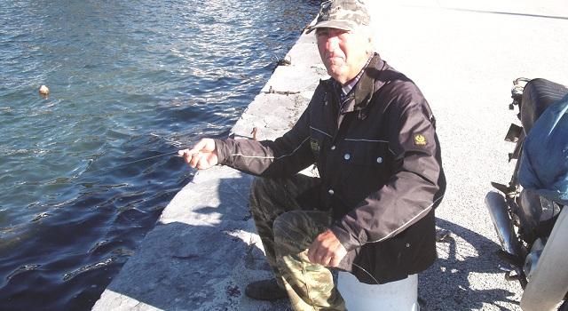 Ο ψαράς της παραλίας του Βόλου