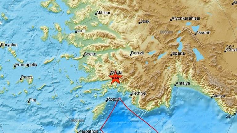 Σεισμική δόνηση 5,1R στην Τουρκία