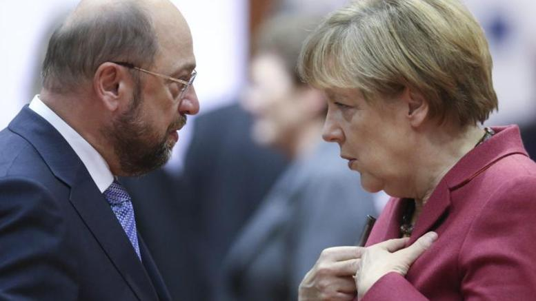 Γερμανικά ΜΜΕ: Μέρκελ και Σουλτς με την πλάτη στον τοίχο