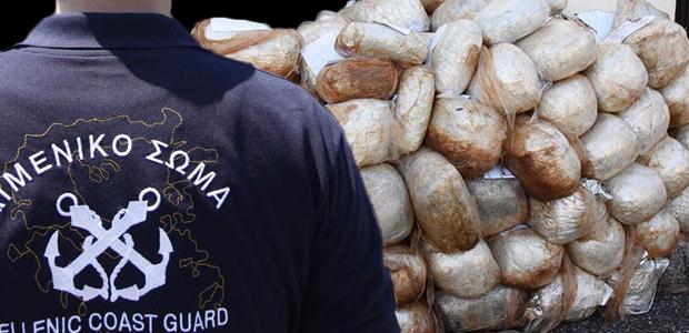 Πώς το Λιμενικό κατέσχεσε 1,6 τόνους κάνναβης - Το βίντεο από την καταδίωξη στη θάλασσα