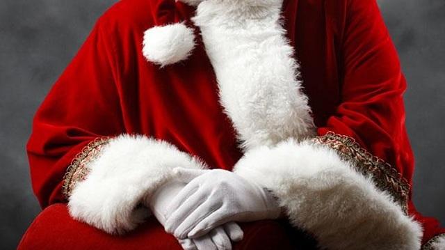 Μυστηριώδης... Άγιος Βασίλης στην Λάρισα