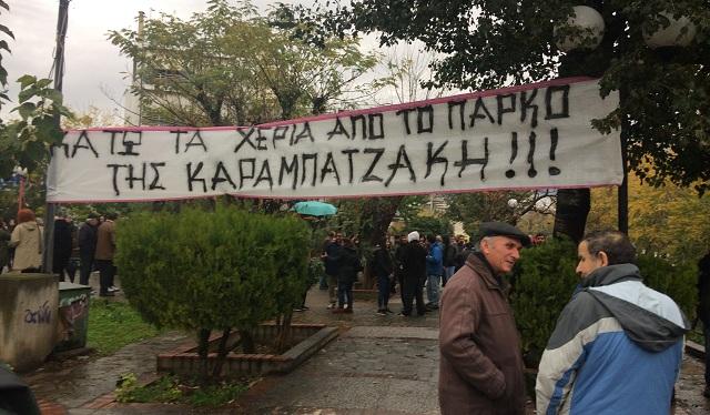 Ανατράπηκε στο δημοτικό συμβούλιο απόφαση ακύρωσης του έργου στην Καραμπατζάκη