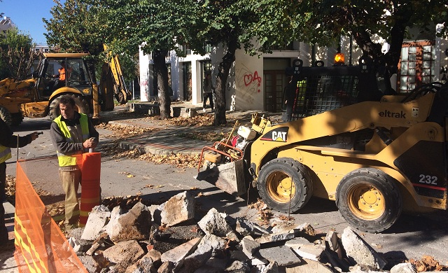 Δήμος Βόλου: Το έργο στην Καραμπατζάκη θα συνεχιστεί