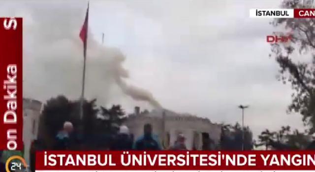 Μεγάλη πυρκαγιά στο πανεπιστήμιο της Κωνσταντινούπολης