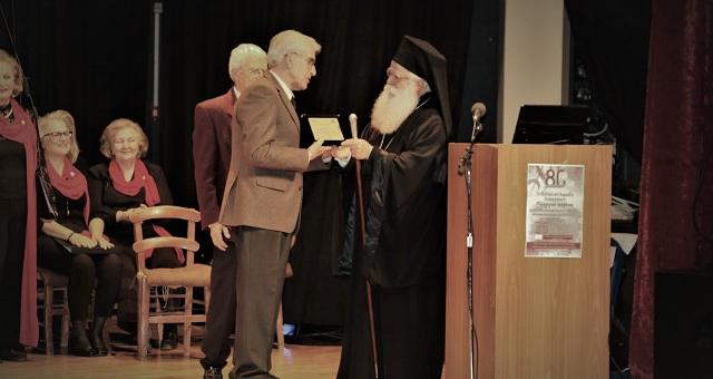Βραβείο προσφοράς στον Αλέξανδρο Δημητρόπουλο