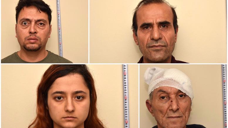 Στη δημοσιότητα στοιχεία και φωτογραφίες των 9 Κούρδων που συνέλαβε η ΕΛ.ΑΣ.