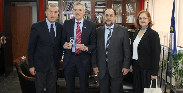 Στην Περιφέρεια Θεσσαλίας ο  Γενικός Πρόξενος της Γερμανίας στη Θεσσαλονίκη