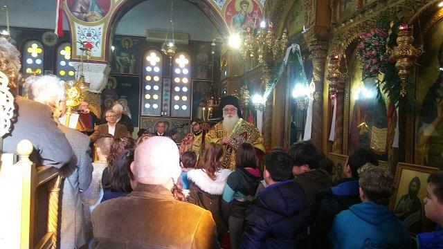 Λαμπρή η πανήγυρις της Αγίας Βαρβάρας στη Ν. Ιωνία