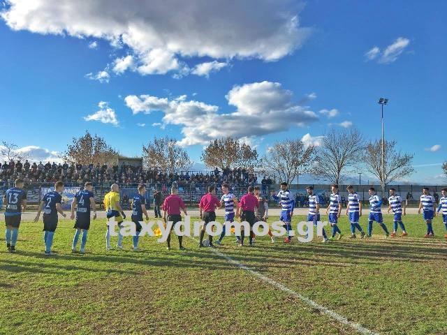 Αδοξο φινάλε για Ρήγα Φεραίο ηττήθηκε στην Καρδίτσα με 2-1
