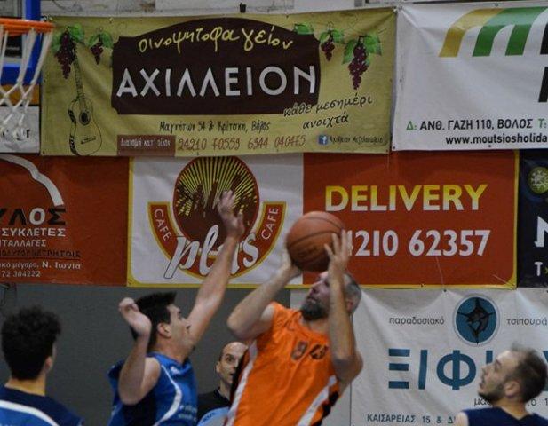 Μεγάλη νίκη για την ΑΕΒΔ, συνεχίζει αήττητος ο Ολυμπιακός Βόλου