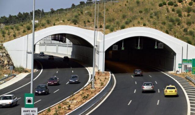 Κυκλοφοριακές ρυθμίσεις μακράς διάρκειας στις σήραγγες Αγ. Κωνσταντίνου και Καμένων Βούρλων