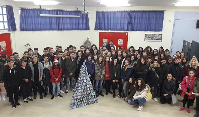 Πολύπλευρες δράσεις στήριξης Ιδρυμάτων από το Γυμνασίου Ευξεινούπολης