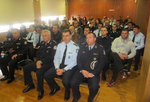 Ψυχολογική υποστήριξη αστυνομικού και πολιτικού προσωπικού της Θεσσαλίας