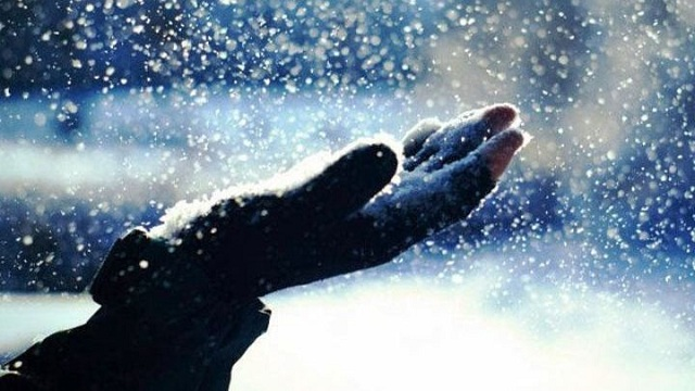 Ελαφρά χιονόπτωση στην κορυφή του Πηλίου