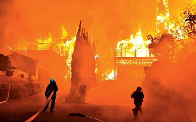 Η τήξη των πάγων ανάβει φωτιές στην Καλιφόρνια
