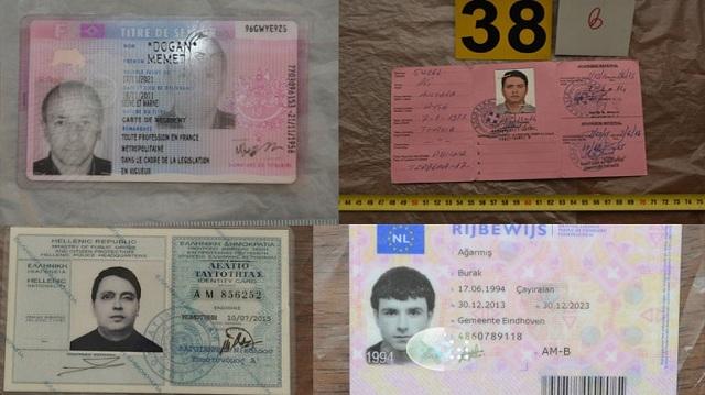 Στη δημοσιότητα πλαστά έγγραφα και φωτογραφίες των Τούρκων που συνελήφθησαν στον Νέο Κόσμο