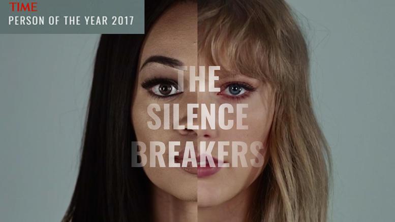 ΤΙΜΕ: Πρόσωπα της χρονιάς οι γυναίκες που έσπασαν τη σιωπή τους