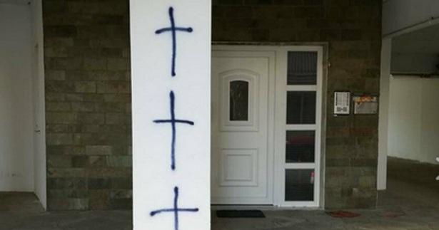 Φρούριο η Κομοτηνή για τον Ερντογάν: Ζωγράφισαν σταυρούς σε σπίτια μειονοτικών
