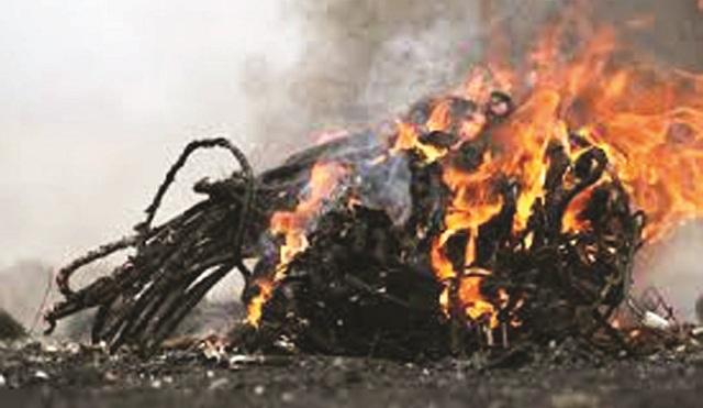Εστίες παράνομης καύσης δηλητηριάζουν τον αέρα του Βόλου