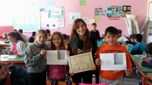 Μια μαθήτρια- ποιήτρια εμπνέει μικρούς μαθητές