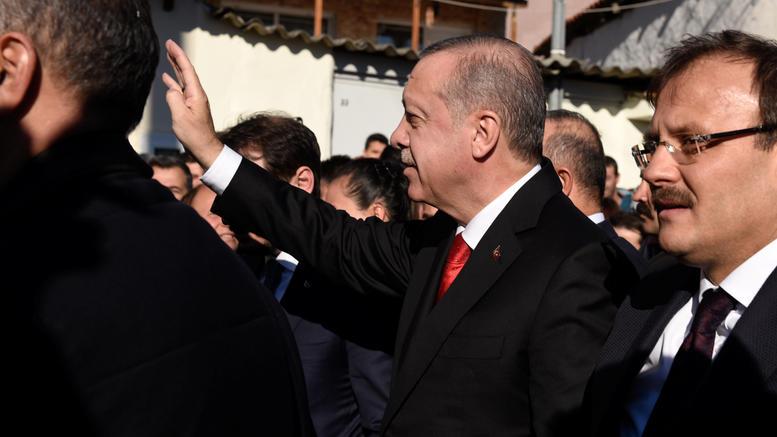 Αναχώρησε για Τουρκία ο Ερντογάν μετά την επίσκεψη στη Θράκη