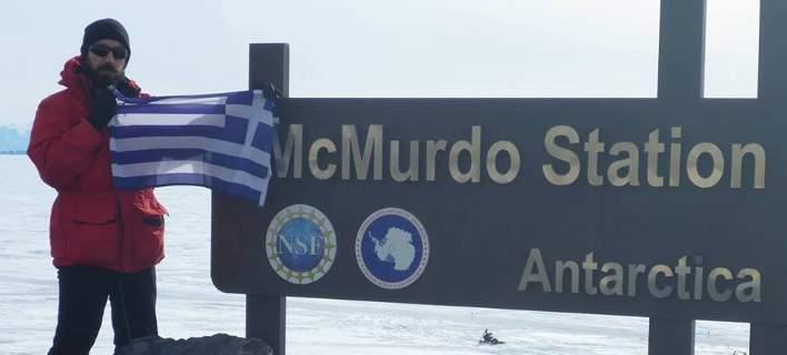 Ενας Ελληνας γεωλόγος στην Ανταρκτική, σε αποστολή της NASA για μετεωρίτες [εικόνες]