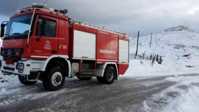 Απεγκλώβισαν 4 άτομα από τα παγωμένα Βαρδούσια σε υψομετρο 2.000 μέτρων