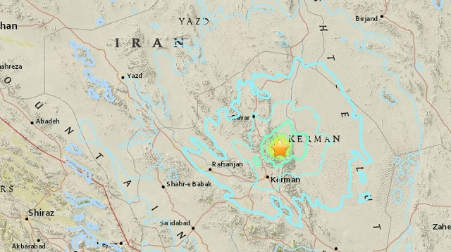 Σεισμός 6,1R στο νοτιοανατολικό Ιράν