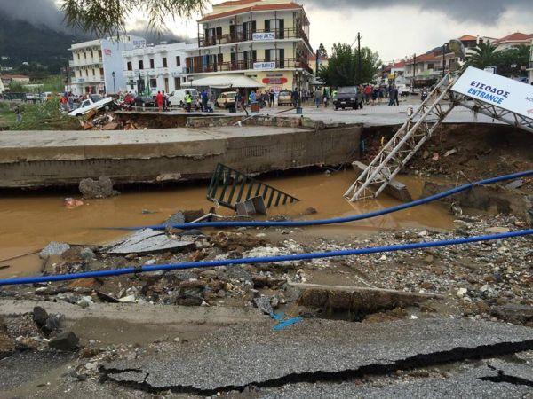 Ερώτηση Λοβέρδου στη Βουλή για τους πλημμυροπαθείς της Σκοπέλου