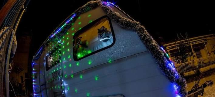 Ενοικιάζεται παραμυθένιο Χριστουγεννιάτικο... τροχόσπιτο στα Τρίκαλα [εικόνες]